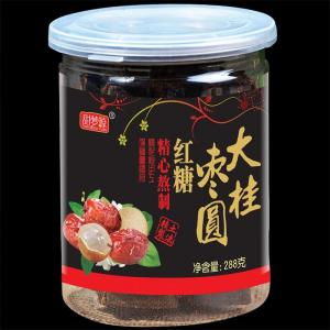 大枣桂圆黑糖288g(瓶装)